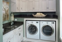 LAUNDRY ROOM / room of toil doesn't need to be boring and ugly