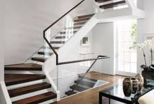 STAIRCASES / classic and contemporary staircase styles