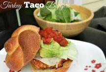 Turkey Dishes / Great ways to make Turkey different. Ground turkey is the star here!