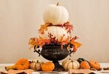 Thanksgiving / Decorating ideas and meaningful was to celebrate Thanksgiving