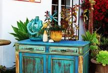 Jill's Abode / Eclectic Painted Furniture by MAKandJill.com Custom Furniture & Custom Finishes Available / by Jill Minshall Wilson