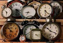 tick tock i love clocks / by Caroline Harris