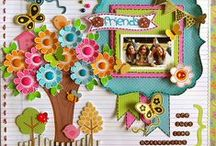Papercrafts - SCRAPBOOKING  / A collection of pins for scrapbook layouts and sketches.