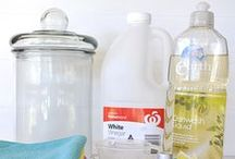 Home - CLEANING / Ideas for making cleaning easier, including routines, tips, products, DIY products