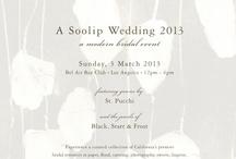 Soolip Wedding / Enjoy inspiration from the partners of A Soolip Wedding. . . www.ASoolipWedding.com