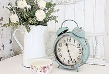 Decor ~ Shabby Chic. / Shabby Chic Decor. / by Kim Wolf