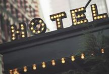 interior design hotels / by Tracy Potter