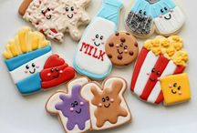 For The Love of Cookies / Sugar cookie decorating inspiration  / by Natalie Peek Haywood