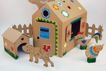 Cardboard Constructions / Cardboard toys and DIY