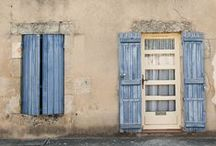 Provence~ Blue Shutters