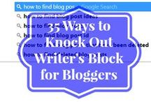 Blogging Tips / Pin your favorite #blogtips here. Please limit pins to 5 at a time - spammers will be removed. To be invited to this board: 1.Follow Jackie Lee on Pinterest http://pinterest.com/momtohanna (not just the board you want to pin to) 2.Email Jackie Lee from the account that is connected with your Pinterest account and let me know which board you want to join. 3.Include PINTEREST BOARD INVITE in the email subject line. 4.Send email to wahmworkday{at}gmail{dot}com