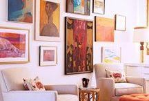 Gallery walls / by Jill Minshall Wilson