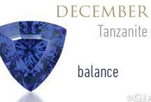 December Birthstone - Blue Topaz and Tanzanite / December Birthstones Jewelry