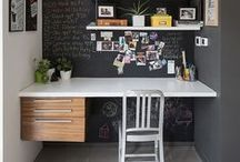 Writerly Desk Inspirations / A board that is all about a writer's life, where the magic happens. #amwriting #inspiration #books #writersroad