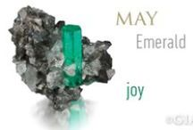 May Birthstone - Emerald / All about the May's birthstone - Emerald. Designs from around the globe showing off the beauty of the #Emeralds