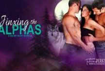 Jinxing the Alphas - MoonHex #2 / Board about my book, Jinxing the Alphas. The second in the Hex My Heart Series. The Hex My Heart series is a steamy paranormal romance series that follows five coven sisters as they find true love through their misadventures with love spells gone wrong with a botched hex or two. Be warned, this series is smokin' hot! #paranormalromance #werewolves #witches #amreading #hotromance #alphaheroes #badboys #shifters #magick #magic #bookboyfriend
