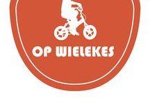 Op Wielekes / Kinderfietsen delen. Inspiratie voor deelprojecten, workshops, deelnemende fietsenmakers