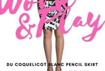Sensational Skirts  / A collection of truly beautiful skirts.