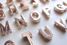 typography / by Nozomi Nagayama