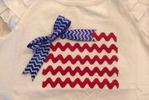 Red, White & Blue / by Tara Boulter