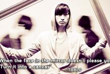 "Tablo / My ""inspirer""."