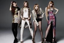 2NE1 / CL, Dara, Bom and Minzy.