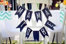 Baby Shower/Gender Reveal Ideas / by Sarah Monroe