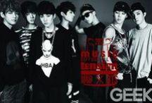 Bangtan Boys / Rap Monster, V, Jungkook, Jimin, J-Hope, SUGA and Jin.
