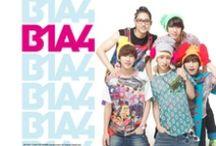 B1A4 / CNU, Baro, Sandeul, Jin Young and Gong Chan.