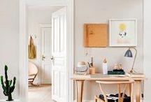 SPACE / office space ideas, studio ideas