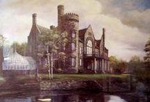 beatiful  moxham castle / by Brenda Johnson
