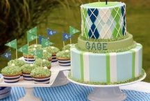 Hole in One Birthday Party / Golf-themed birthday party ideas