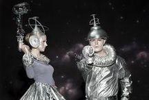 Very Dapper Martians / Alien-inspired Mardi Gras costume ideas