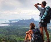 Vie de routarde / Lorsque je suis sur la route, j'adore être en mode routard, sac à dos ou backpacker. L'impression de vivre une aventure incroyable pour pas très cher! Et vous, êtes-vous un routard dans l'âme? Inspiration routarde et conseils pratiques pour les routards autour du monde.