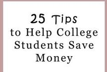 Saving Money in College / Textbooks, coffee, and late night McDonald's runs can add up! Here's how to save money in college.