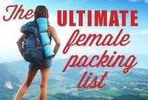 Equipement: Faire son sac / Les meilleurs idées et conseils d'organisation pour faire votre sac en toute sérénité par Voyages et Vagabondages