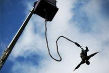 Sauter à l'élastique / Lors de mon voyage en Nouvelle-Zélande, je me suis trouvée une nouvelle passion: sauter à l'élastique autour du monde. Etes-vous tentés par cette aventure?