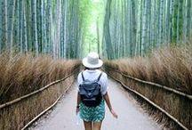 Voyager au Japon / Le Japon a été mon premier rêve et c'est seulement 17 ans plus tard que j'ai pu enfin y aller!