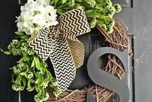 Spring + Summer Holiday DIY / Festive spring holiday decor, recipes, and fun