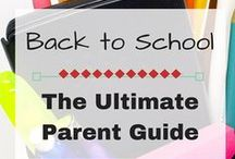 Back to School / Back to school activities, traditions, organization tips, and fun!