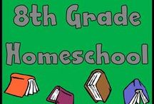 Homeschool: 8th Grade / PreAlgebra, General Science, English 8, Modern History, Christian Worldview, Typing, Spanish / by Lilliput Station