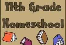 HS: 11th Grade / ADVANCED MATH: GEOMETRY (Saxon Advanced Math, Mastering Algebra DVDs), BIOLOGY II (Apologia Advanced Biology), AMERICAN LITERATURE (Notgrass), AMERICAN HISTORY (Notgrass), HUMAN DEVELOPMENT/DRIVERS ED (7Sisters Human Development/Drivers Ed), PHILOSOPHY (Philosophy Adventure, additional books)  / by Lilliput Station