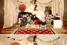 Activity-Indoor Camping / by Annie Horn