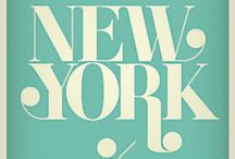 New York, Food & art / by Stella dans sa roulotte !