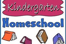 Homeschool: Kindergarten  / by Lilliput Station