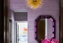 Purple and Gold Decor / by Albion College