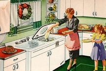 Vintage Christmas Kitchen / Kitchen-related Christmas themes. / by Jeannie Holston