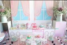 VINTAGE KITCHEN {girl birthday}