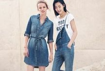 New Shades of Blue / Deep blue, sky-blue, azure, indigo – Discover a range of cool cuts, denim washes and casual styles of True Blue!  / by Esprit