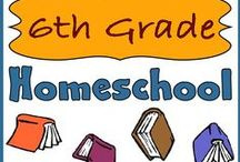 "Homeschool: 6th Grade / MATH (Saxon 76), SCIENCE (Apologia Zoology 1 & 3), ENGLISH  (penmanship, typing, grammar, fantasy genre literature & study guides,  writing assignments), HISTORY (Mystery of History 2, reading historical fiction), BIBLE (Apologia ""Who Is God?""), ART/MUSIC (taking lessons) :: see Homeschool: History (Medieval) Pinterest board for historical fiction selections. http://www.pinterest.com/amtell/homeschool-history-medieval/  / by Lilliput Station"